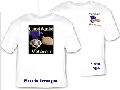 T-Shirt Combat wounded veterans