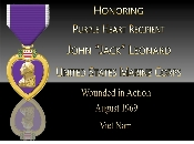 Purple Heart Honor Plaque