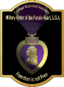 Purple Heart Sign Board