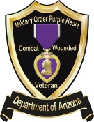 T shirt Purple Heart Shield Personalized