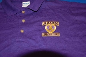 Purple Heart Proud Supporter Polo Shirt