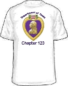 T shirt Purple Heart Personalized Tee