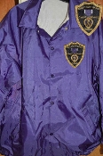 Purple Heart Purple Oxford Windbreaker