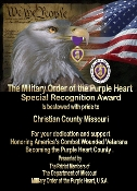 PL Purple Heart City/County/State
