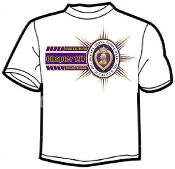 T shirt Bars Military Order Purple Heart/Chapter