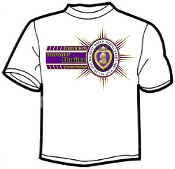 T shirt Bars Military Order Purple Heart/Dept
