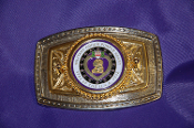 Purple Heart Belt Buckle-Logo