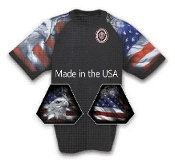USA Black Graphic Tee