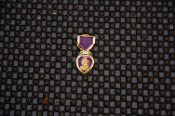 "Purple Heart Mini Mini Lapel Pin 1"" P8"