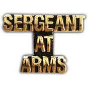 Sgt-At-Arms Lapel Pin