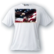 USA Eagle Combat Wounded Tee