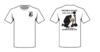 T shirt Soldiers Cross Freedom