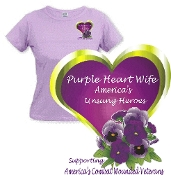 Purple Heart Family T-Shirt(Females)