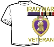 T shirt Iraq Veteran