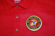 Polo Shirt USMC Combat Wounded Veteran