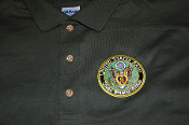 Polo Shirt US Army Combat Wounded Veteran