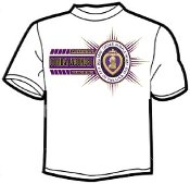 T shirt Bars Military Order Purple Heart
