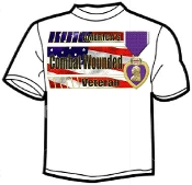 T shirt Bars Purple Heart