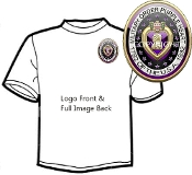 T shirt 3D Military Order Purple Heart