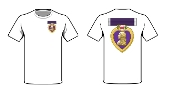 T shirt Service Ribbon Purple Heart