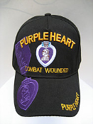 Hat Purple Heart Shadow